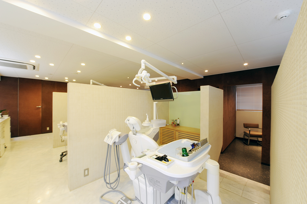 清潔感のある診療室